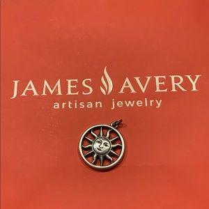 James Avery Retired Sun Charm